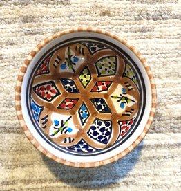 Sobremesa Rosette Brown Tiny Ceramic Bowl