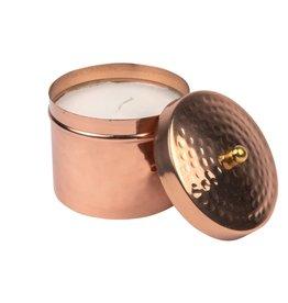 Large Copper Candleholder