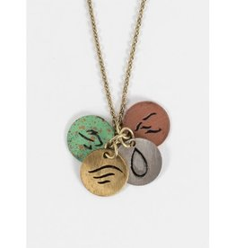 Ten Thousand Villages Four Elements Necklace