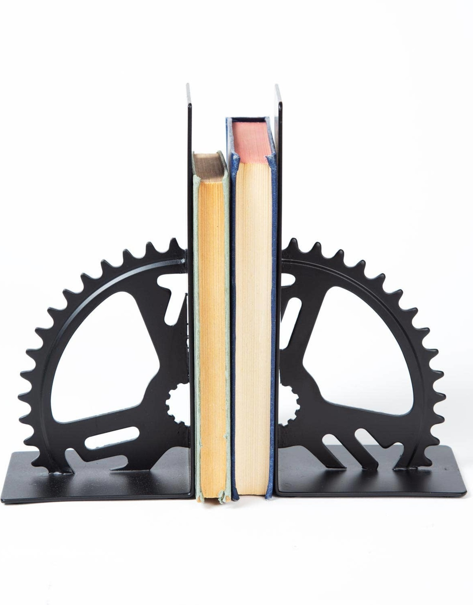 Ten Thousand Villages Bicycle Gear Bookends