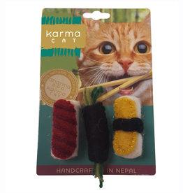Dharma Dog Karma Cat Sushi Cat Toy