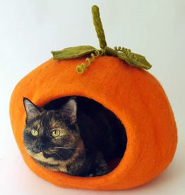 Dharma Dog Karma Cat Pumpkin Pet Cave