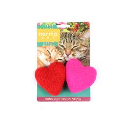 Dharma Dog Karma Cat Heart Cat Toys