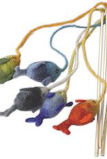 Dharma Dog Karma Cat Fish Cat Teaser Toy