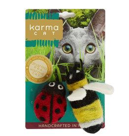 Dharma Dog Karma Cat Ladybug & Bee Cat Toys