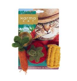 Dharma Dog Karma Cat Vegie Cat Toys
