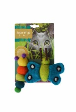 Dharma Dog Karma Cat Caterpillar & Butterfly Cat Toys
