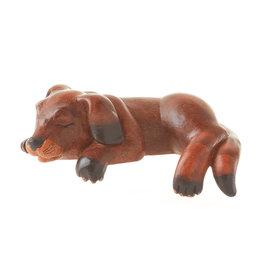 Serrv Dog Tired Shelf Sitter