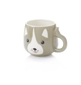 Serrv Husky Pup Ceramic Mug