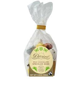 Divine Chocolate Speckled Milk Chocolate Eggs
