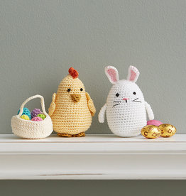 Serrv Crocheted Easter Bunny & Chick