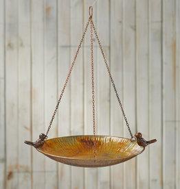Serrv Eco-Iron Hanging Birdbath