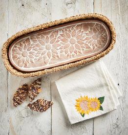 Serrv Sunflower Harvest Breadwarmer
