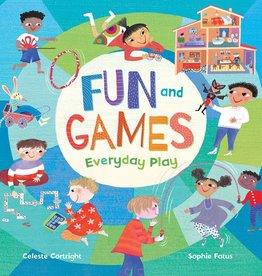 Barefoot Books Fun and Games: Everyday Play hardcover picture book
