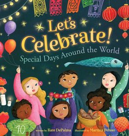 Barefoot Books Let's Celebrate! paperback picture book