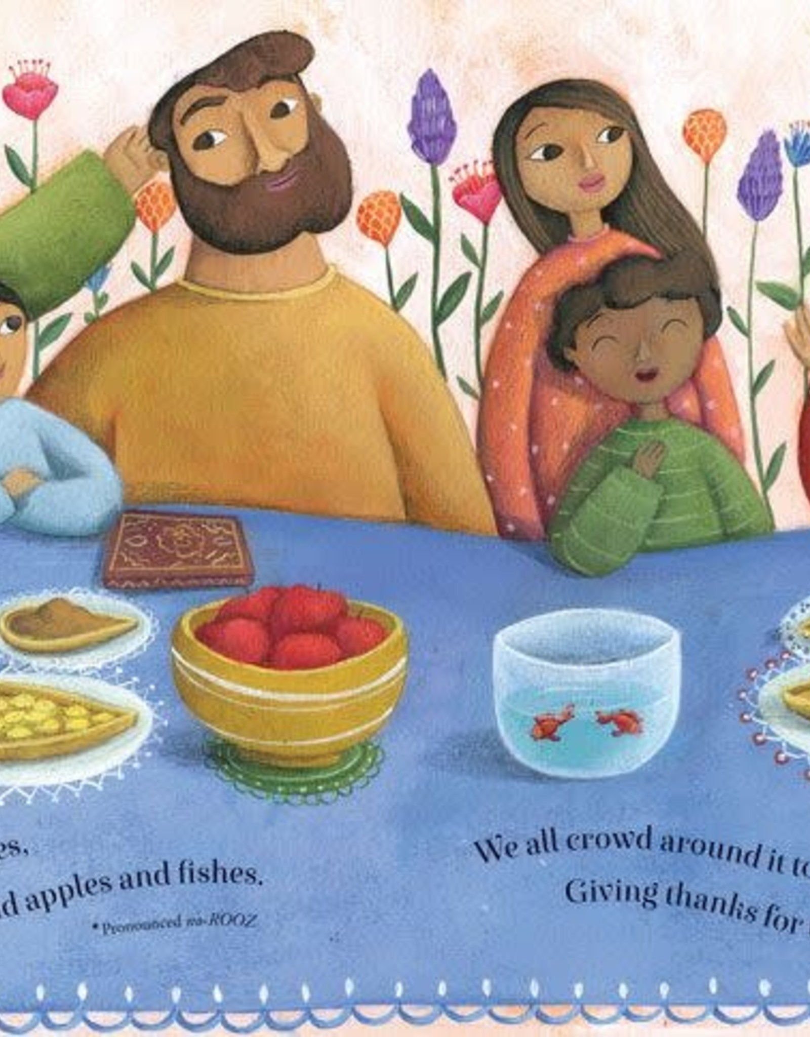 Barefoot Books Let's Celebrate! hardcover picture book