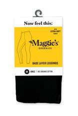 Maggie's Organics Maggie's Organics Cotton Ankle Leggings