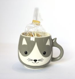Serrv Sweet Kitty Mug & Chocolate