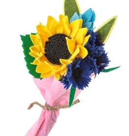 Silk Road Bazaar Sunflower Bouquet Ornament