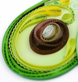 Quilling Card Quilled Avocado Greeting Card