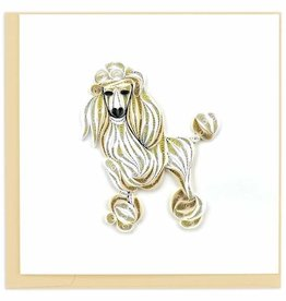Quilling Card Quilled Poodle Card