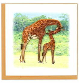 Quilling Card Quilled Giraffe Card