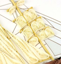 Quilling Card Quilled Schooner Card