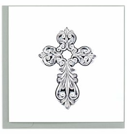 Quilling Card Quilled Cross Card