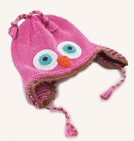 Pebble Owl Hat