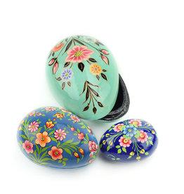 Serrv Kashmiri Nesting Eggs (s/3)