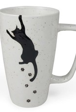 Ten Thousand Villages Kitty Prints Mug
