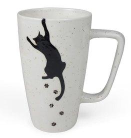 Ten Thousand Villages Kitty Prints Mug
