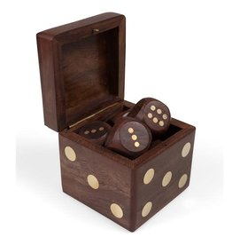 Ten Thousand Villages Dice Box