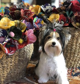 Ten Thousand Villages Recycled Sari Flower