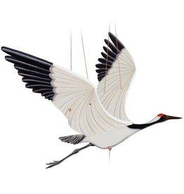 Tulia Artisans Crane Flying Bird Mobile