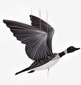 Tulia Artisans Loon Bird Flying Mobile