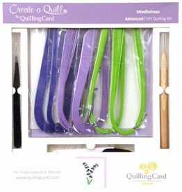 Quilling Card Advanced Quilling Kit Lavender
