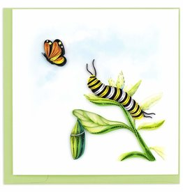 Quilling Card Quilled Caterpillar Greeting Card