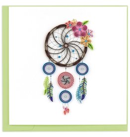 Quilling Card Quilled Dreamcatcher Card