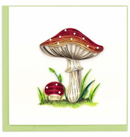 Quilling Card Quilled Wild Mushroom Greeting Card
