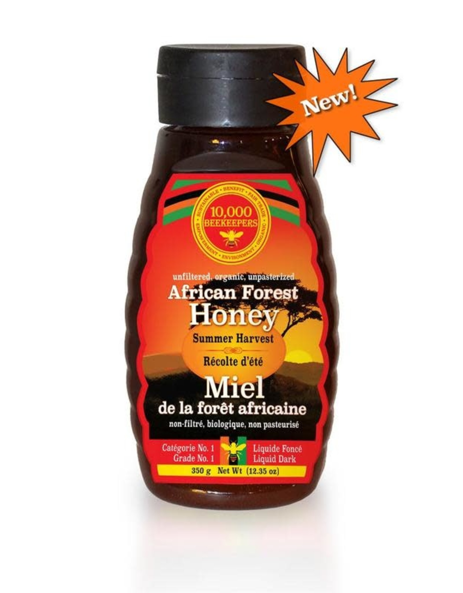 African Bronze Honey African Forest Honey Summer Harvest 350 g