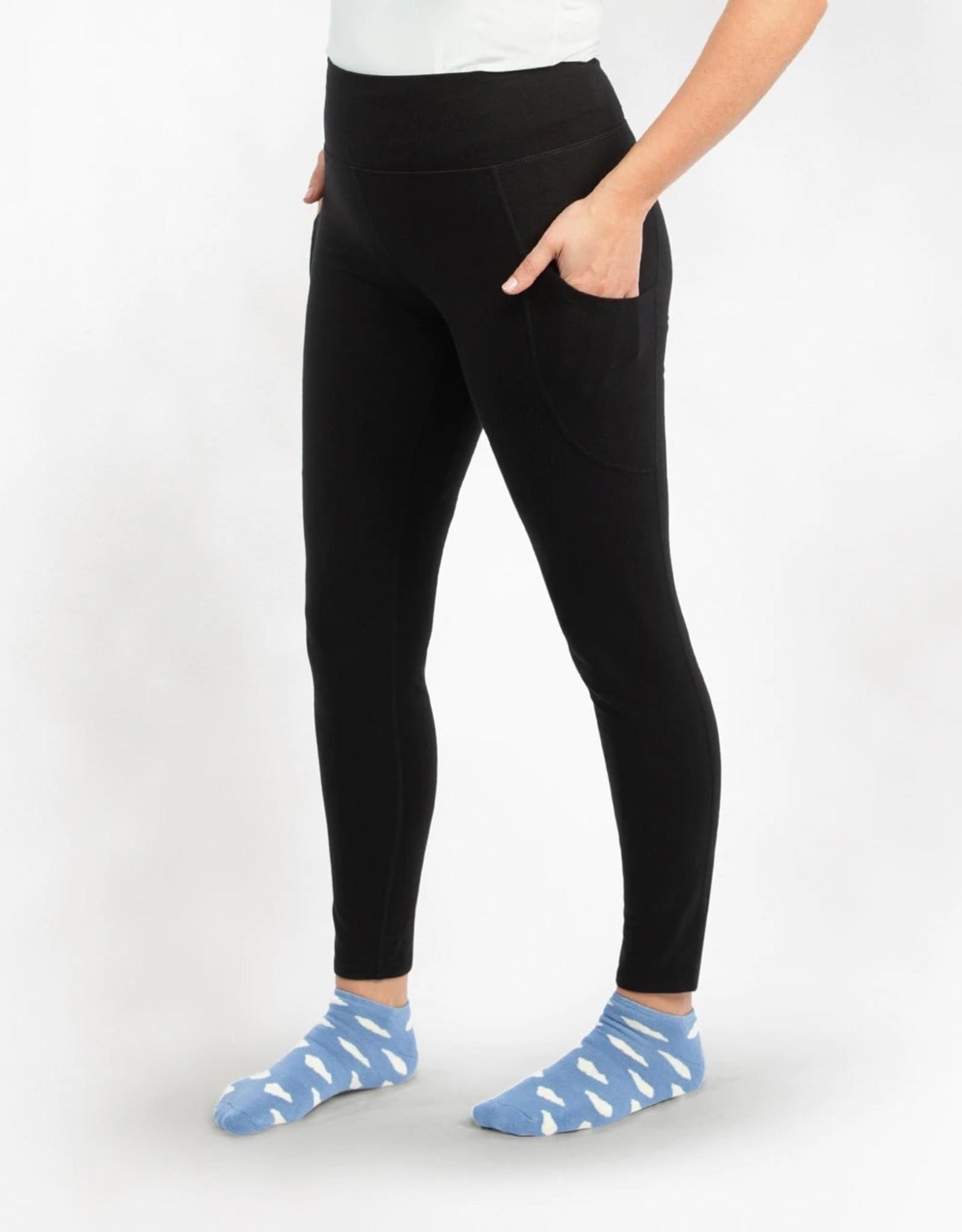 Maggie's Organics Blackout Leggings - Ankle Length