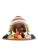 Ten Thousand Villages Andean Hat Nativity