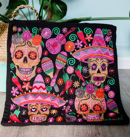 Lucia's Imports Skeleton Pillowcase