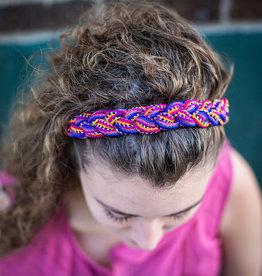 Lucia's Imports Striped Headband