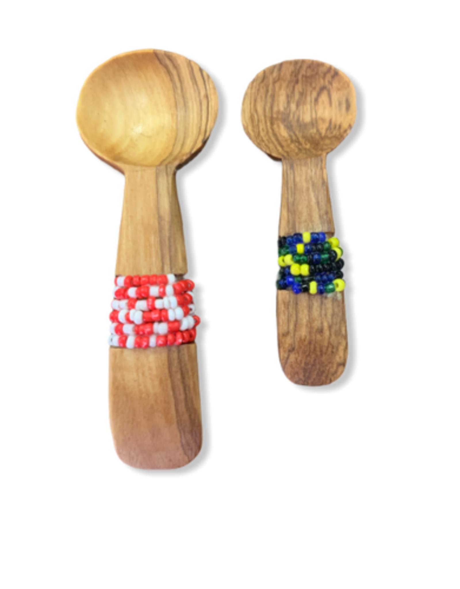 "Harkiss Designs 3 -4"" Spice Beaded Spoon"