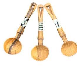 Harkiss Designs Multi Purpose Vee - Shaped Wooden Scoop