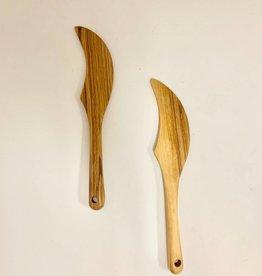 Harkiss Designs Wooden Butter Spreader Knife - Halfmoon