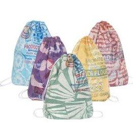 Global Mamas Eco Drawstring Bag - Flour Sack - Assorted
