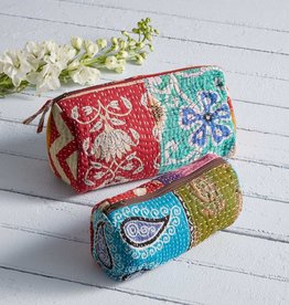 Serrv Kantha Makeup Bag